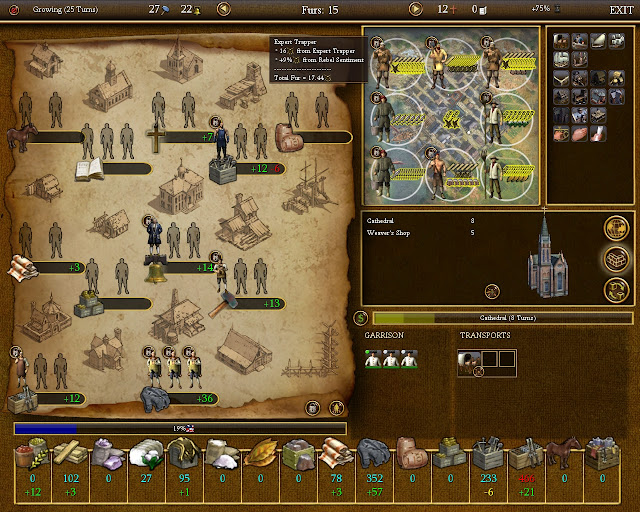 Civilization 4 Colonization - Coats Colony Description