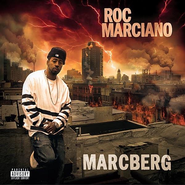 Roc Marciano - Marcberg LP  Cover
