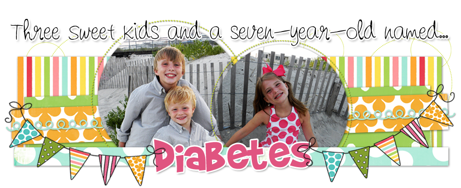 Four sweet kids and an eight-year-old named Diabetes