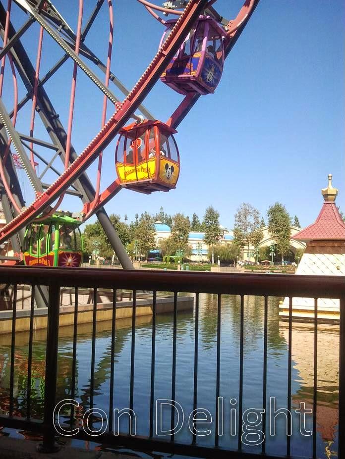 ferris wheel disneyland