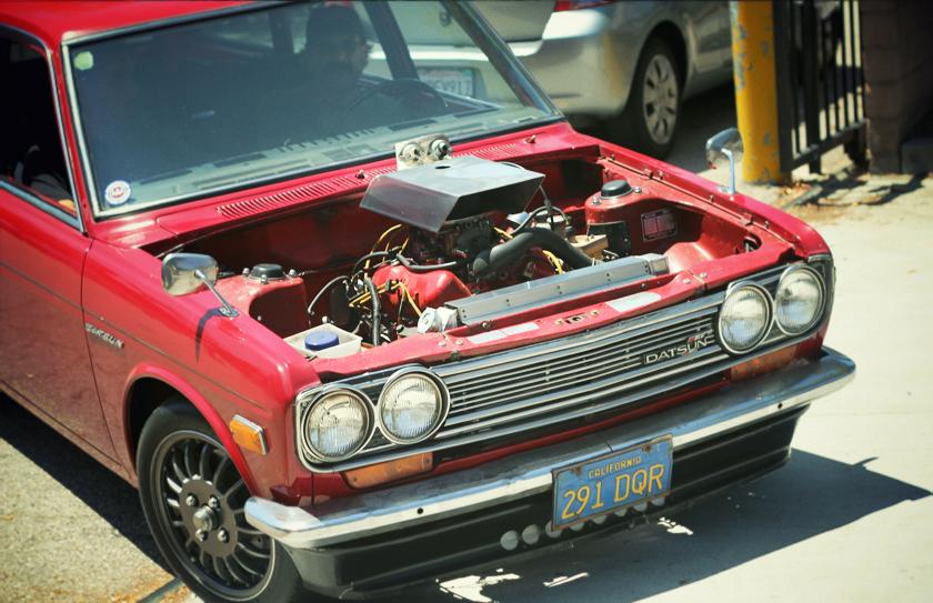 Datsun Car Show Eagle Rock