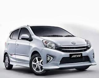 Toyota Agya mobil murah ramah lingkungan