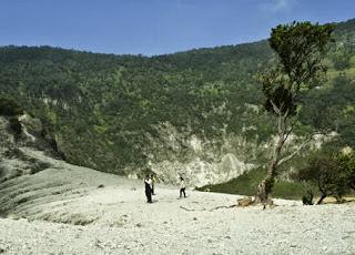 Kawah Upas Gunung Tangkuban Parahu