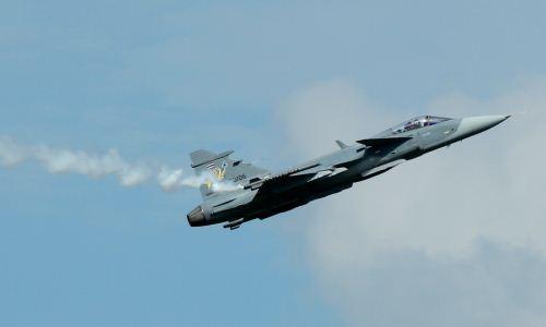 Jet tempur Gripen Thailand