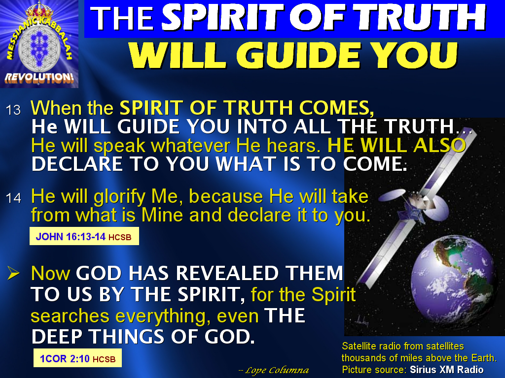 guide you into all truth