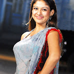 Nayanthara in Saree Spicy Photos