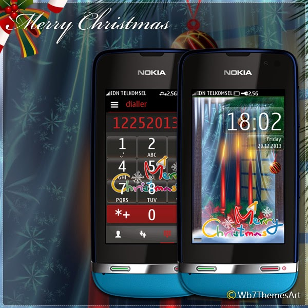 Christmas message theme asha full touch