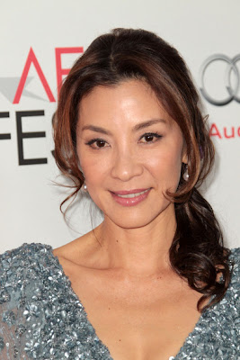 Michelle Yeoh Ponytail Hairstyle