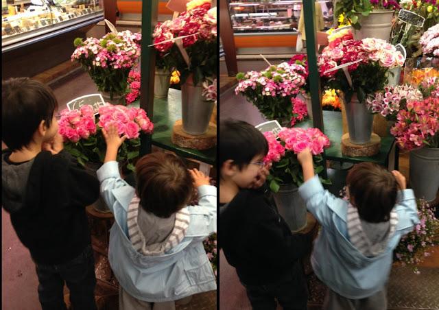 blog maman maitresse instit paris enfants famille marché fleurs