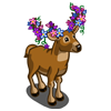 FarmVille Flower Antler Buck  (Day 4)