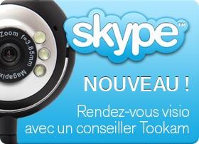 Skype sur Tookam