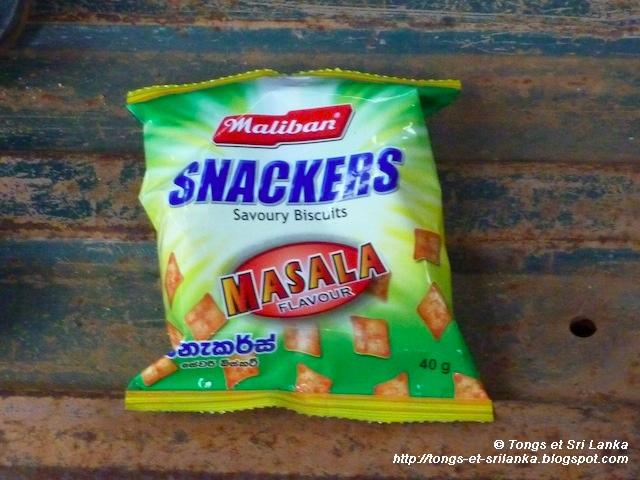 Chips au Sri Lanka