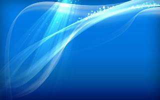 Simple Abstract Blue HD Wallpaper