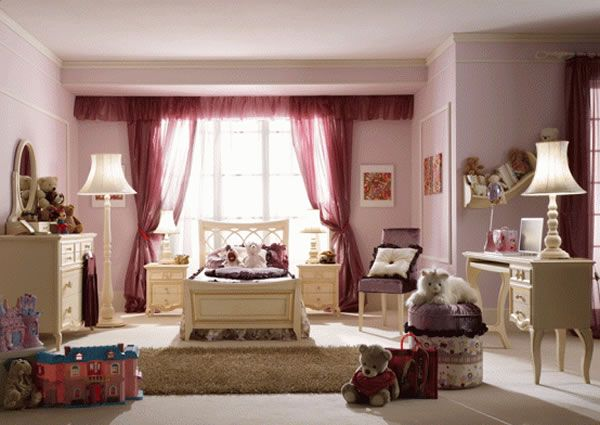LUXURY GIRLS BEDROOM METAL DESIGN DECOR