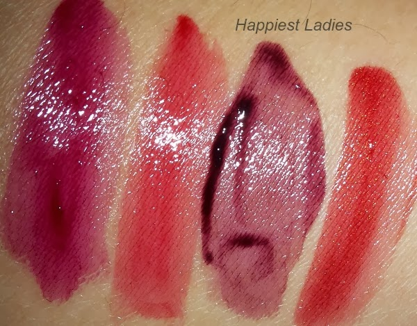 Maybelline Super Stay 10Hr Tint Gloss Swatches