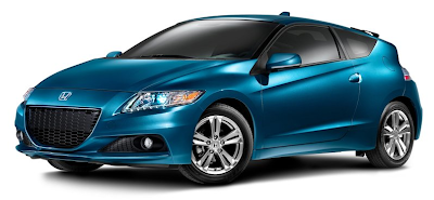 2013 Honda CRZ blue