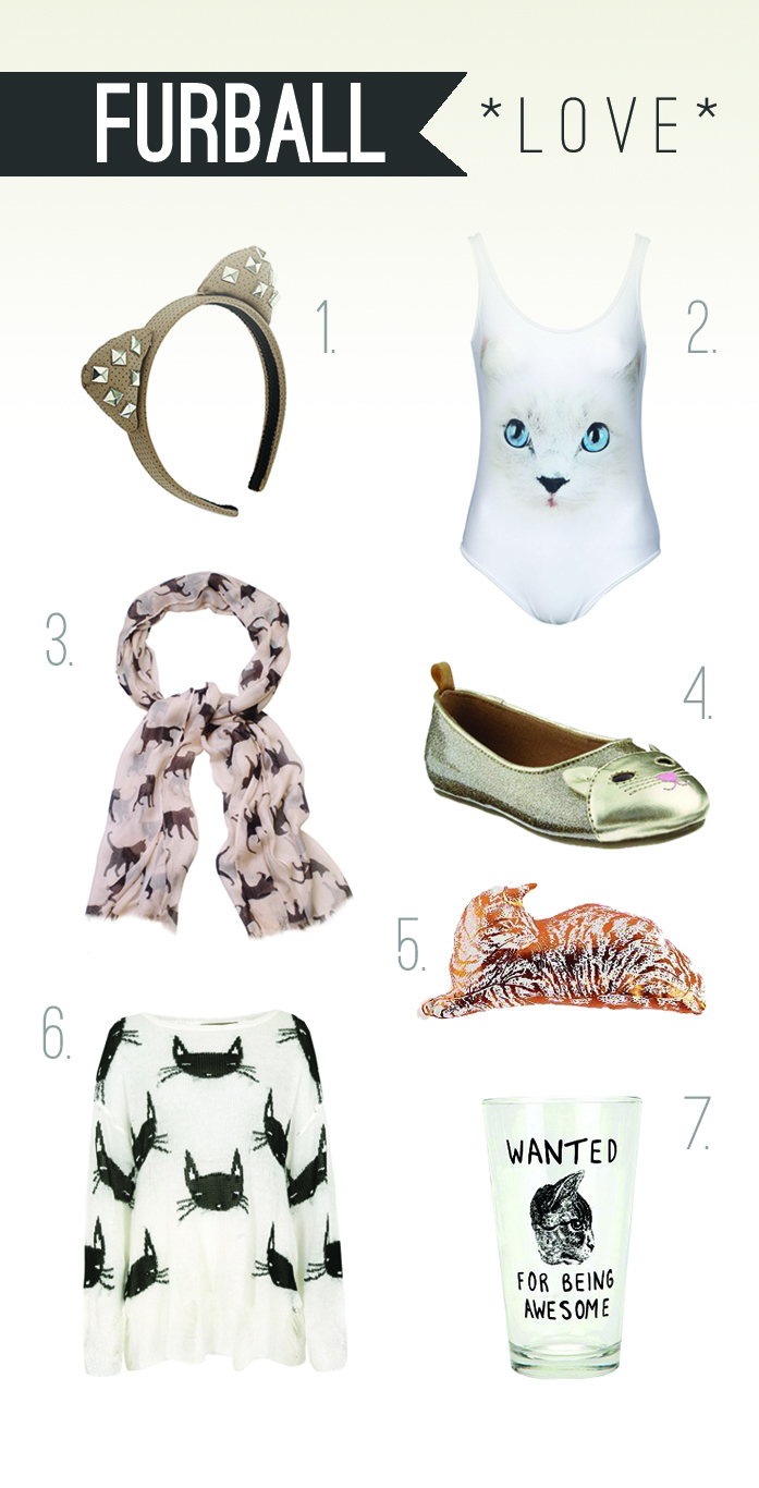 Cat graphic patterned fashion