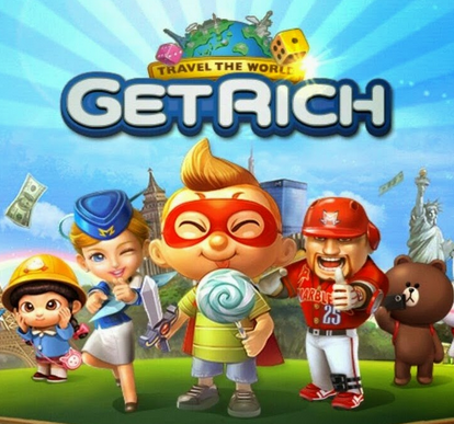 Download gratis LINE Let's Get Rich V1.0.2 Mod Apk Unlimited Diamond