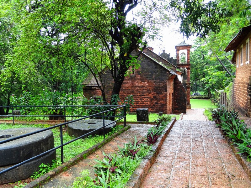 Chapel of St. Catherin first Portuguese chapel in Panjim Goa - Pick, Pack, Go