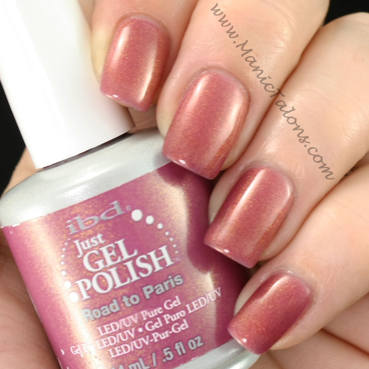 IBD Just Gel Road to Paris Swatch