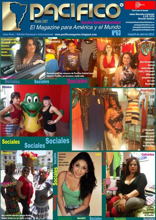 Revista Pacífico Nº 63 Social Internacional