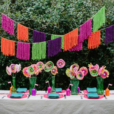 Throw a backyard fiesta party