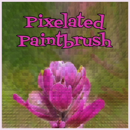 Pixelated Paintbrush