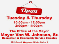 Mayor Johnson Open Office Hours