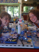 Summer art camp with Aunt Julie