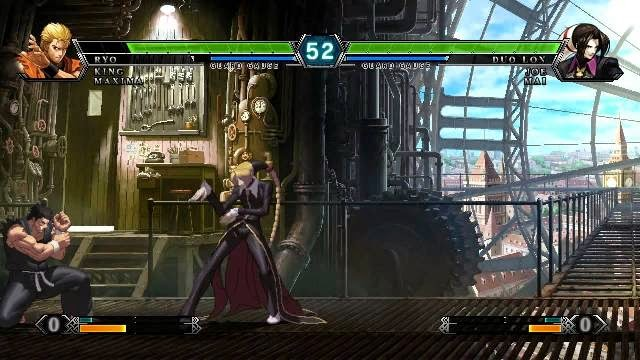 Playing The King of Fighters XIII PC Games