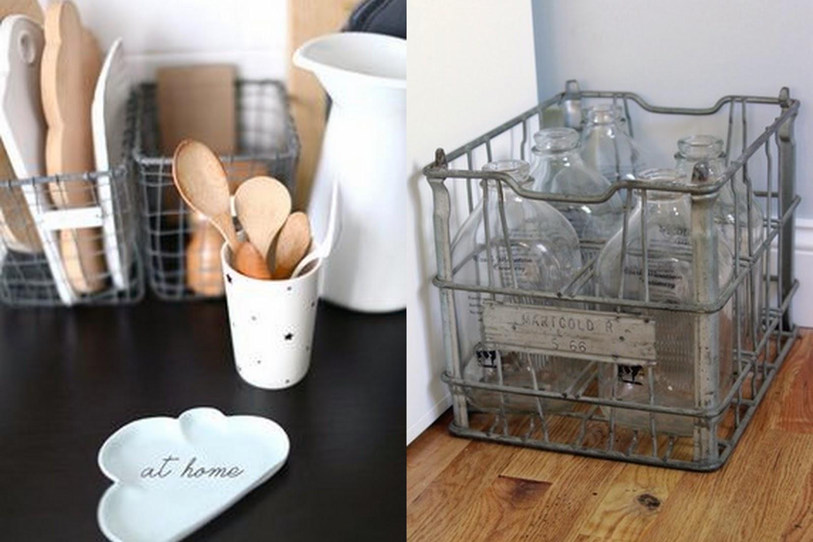moje domowe inspiracje Inspiracje z metalowymi koszami cz 1  kuchnia -> Inspiracje Domowe Kuchnia