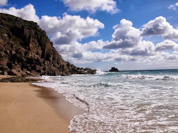 Traumstrand in der britsichen Grafschaft Cornwall