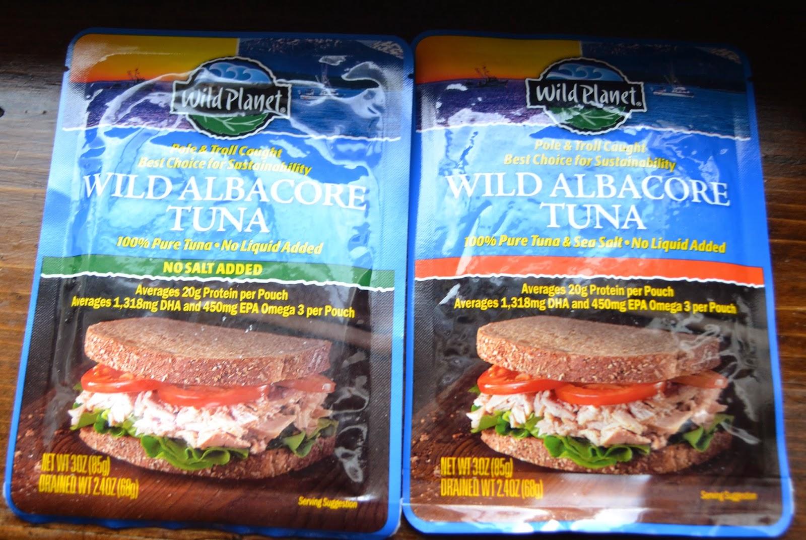 Wild Planet Tuna and Salmon