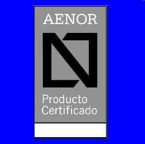 CERTIFICADO PRODUCTO AENOR