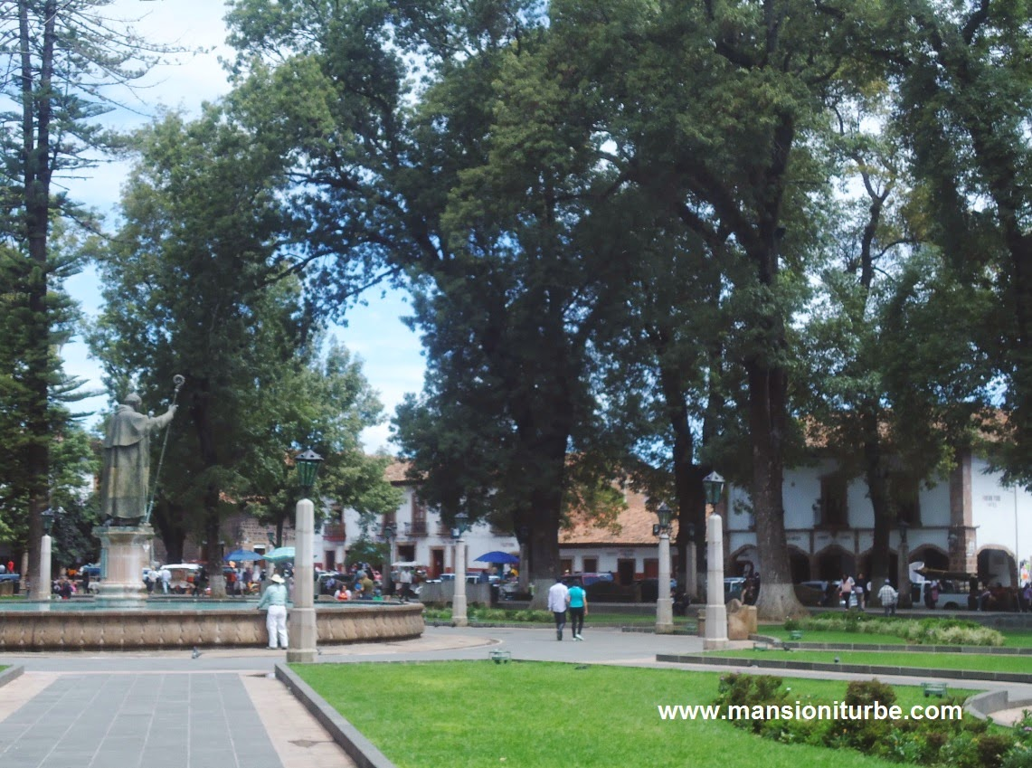 Pátzcuaro is one of the beautiful colonial towns of Mexico