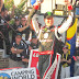 """Kyle Busch pulls """"Days of Thunder"""" move to win the Lucas Oil 200 at Dover"""