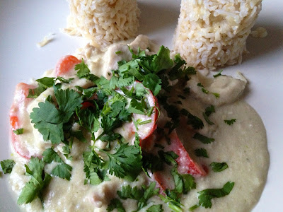 Thermomix: Quick Thai green chicken curry recipe / Receta rápida de pollo al curry verde tailandés TM 31 o Bimby