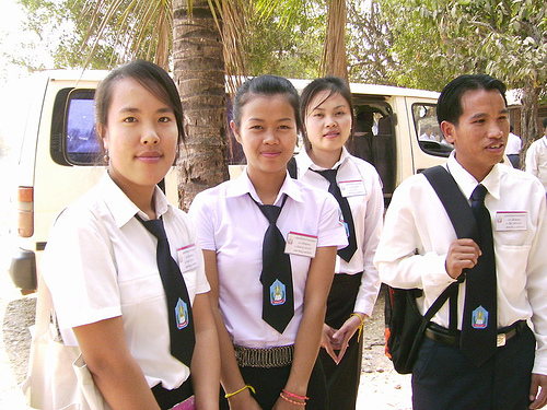 Cun! Baju Uniform Sekolah di Negara Asia Tenggara