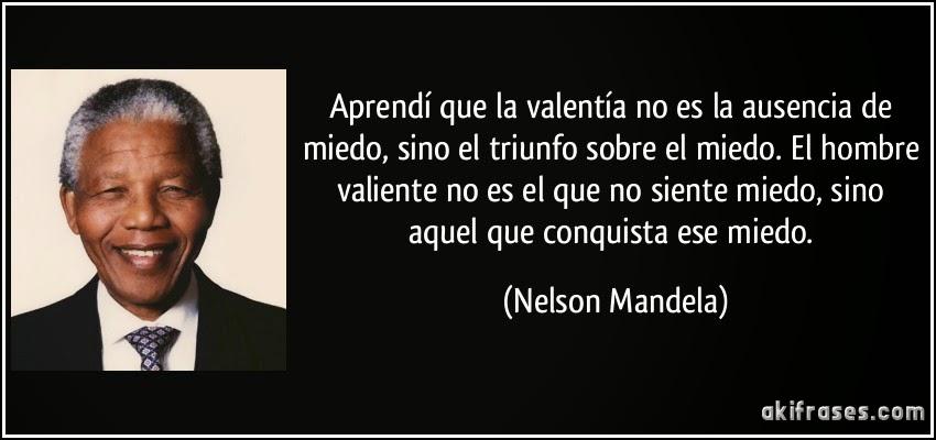 Frase Nelson Mandela