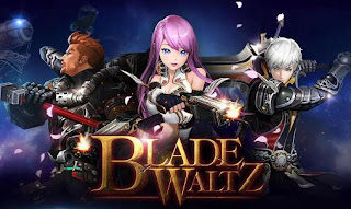 Screenshots of the Blade waltz for Android tablet, phone.