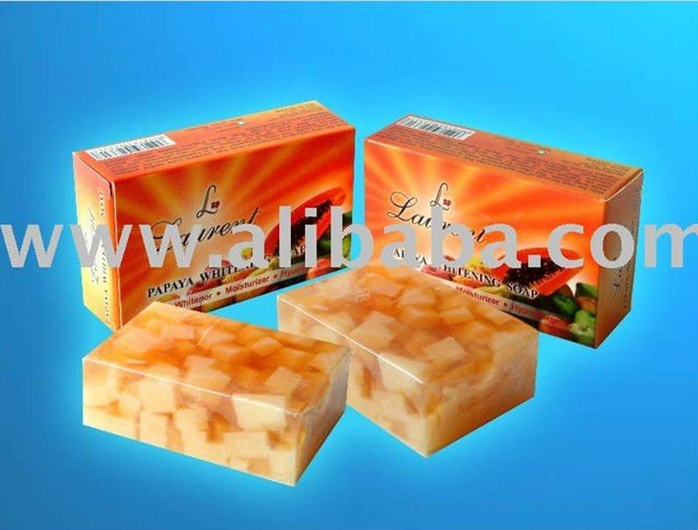 Papaya Soap For Skin Whitening - Girl from Arabia