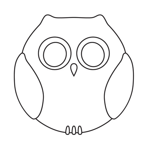 Owl Cut Outs Printable | Search Results | Calendar 2015