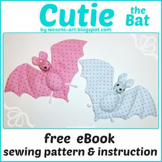 Cutie the Bat wesens-art.blogspot.com