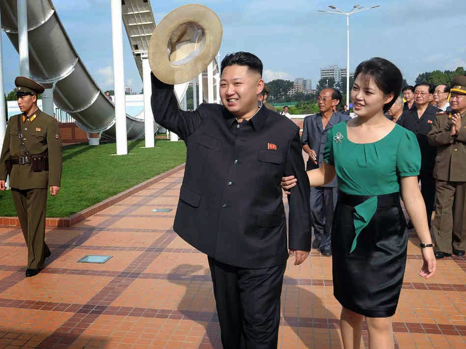 Revolusi Ilmiah - Kim Jong-Un dalam acara kenegaraannya