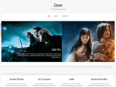 Zenon Lite WordPress Theme
