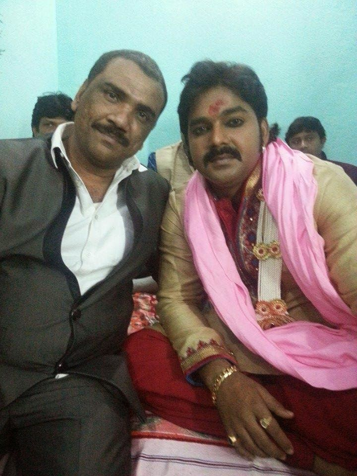 pawan singh mariage day and photos