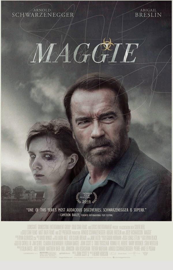 "primer poster de ""Maggie"""