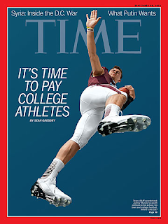 johnny football time magazine