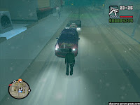 GTA San Andreas Snow Mod - screenshot 13