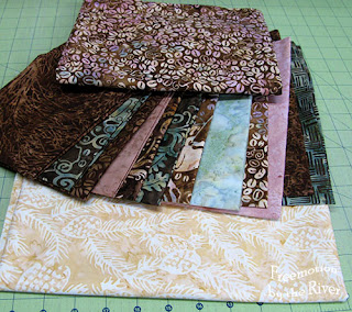 Fat Quarter bundle of batiks from Fat Quarter Shop